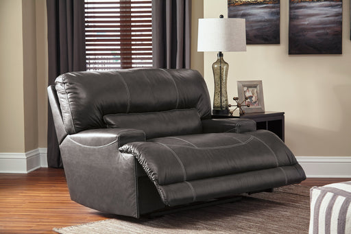 McCaskill Signature Design by Ashley Wide Seat Recliner image