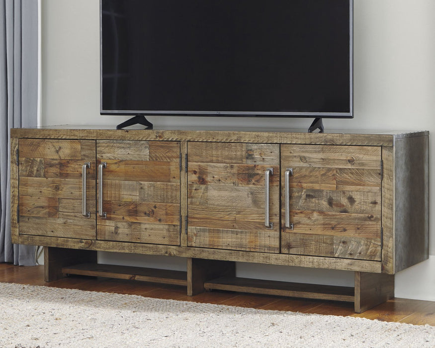 Mozanburg Signature Design by Ashley TV Stand image