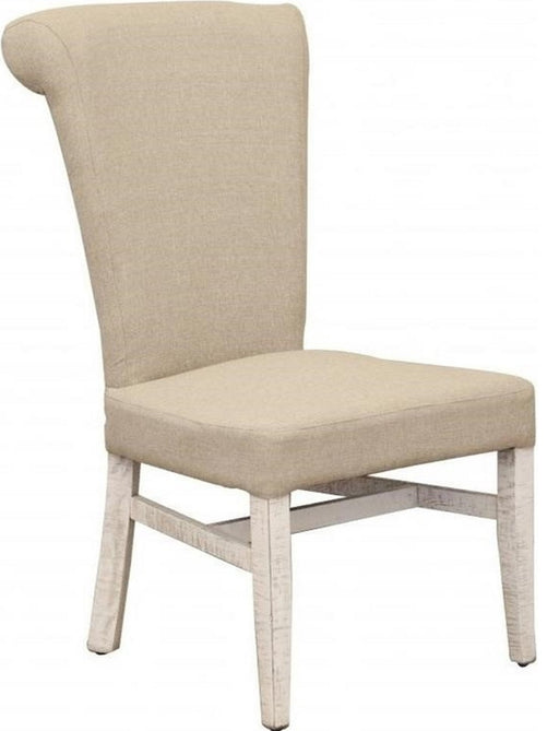 IFD Bonanza Upholstered Chair in Ivory (Set of 2) IFD4150CHAIR image