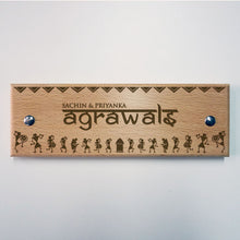 Load image into Gallery viewer, Rectangle Wooden Nameplate / Signboard