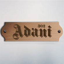 Load image into Gallery viewer, Innkeeper Wooden Nameplate