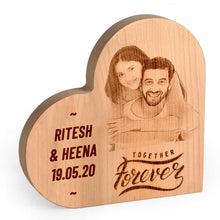 Load image into Gallery viewer, Heart-shaped Wooden Plaque