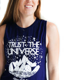 Trust the Universe Open back Royal Navy