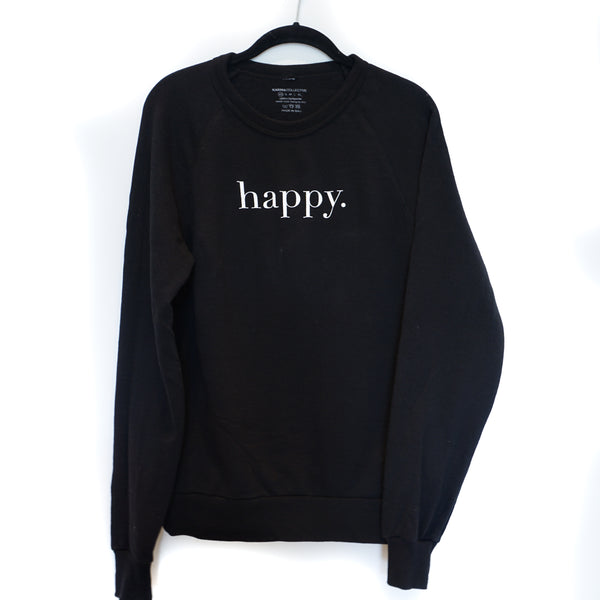 Happy Terry Cotton Pullover