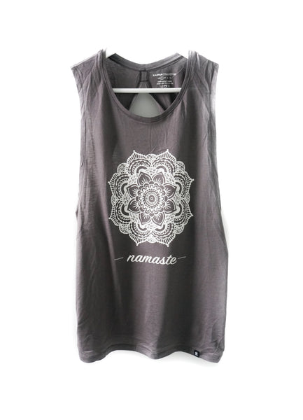 Mandala Flower Open Back