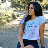 Hello Sunshine Tie Dye T-shirt