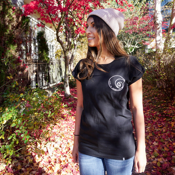 Life is Beautiful- Black Casual t-shirt