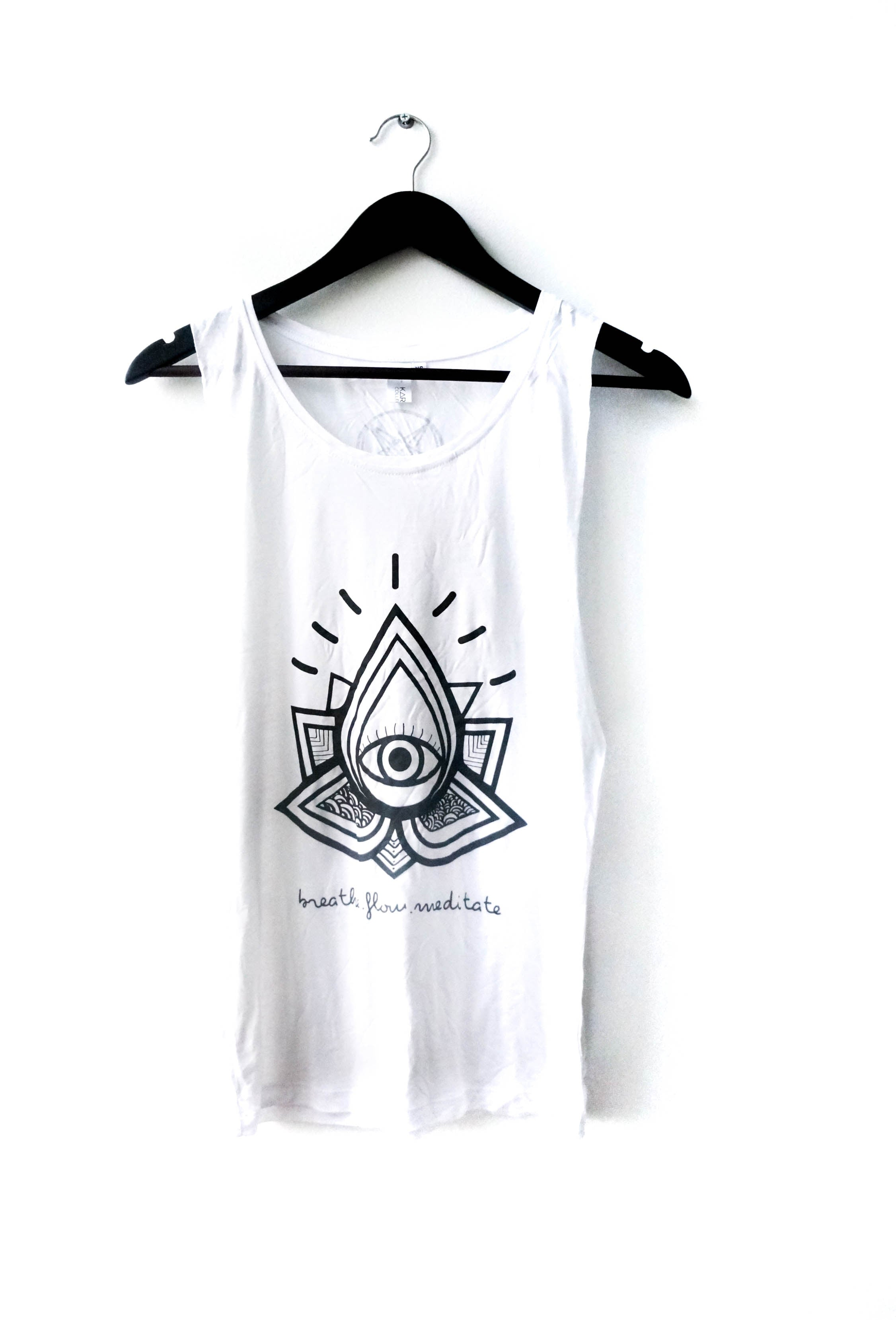 LOTUS EYE Muscle Tank