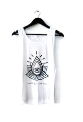 Karma Collective LOTUS EYE Muscle Tank