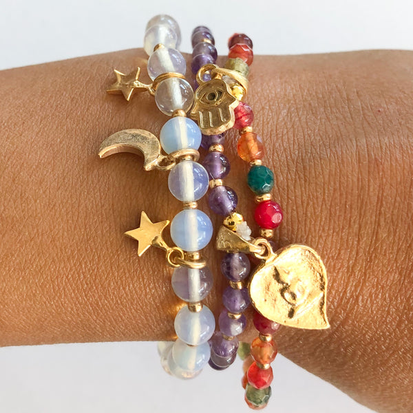 Live your Magic Bracelet Stack