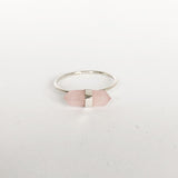 Rose Quartz Prism Ring