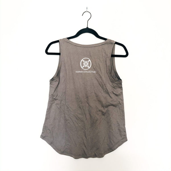 Sunshine on my Mind Grey Pocket Tank top