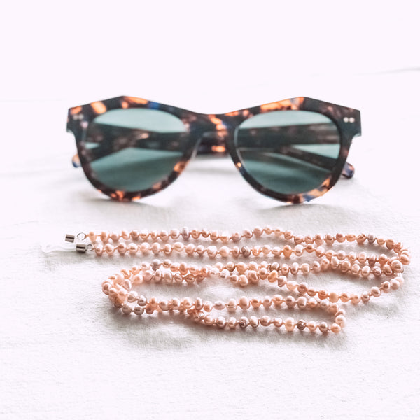 Pink Freshwater Pearl Sunglass Chain