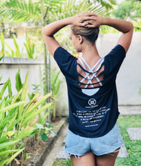 Karma Collective FREE SPIRIT V-BACK TSHIRT