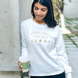 Moon Child Terry Cotton sweatshirt