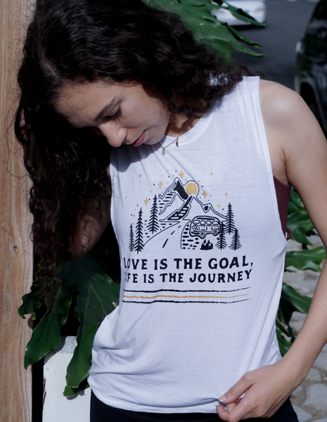 Love is the Goal Muscle Tank