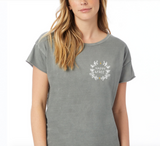Happy + Free Grey Sage T-shirt