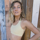 Dressy Sports Bra - Sand - Pi Yoga Pants