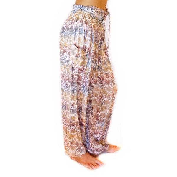 PI  -  Grounded Goddess (Purple/Gray/Green) - Scrunched Bottom  -   -  Women's Scrunched Bottom Pants size 0-12  -  pi-yoga-pants