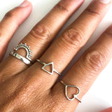 Just Love heart ring