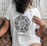 Mandala Flower V-back""