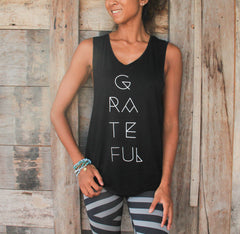 Karma Collective GRATEFUL MUSCLE TANK