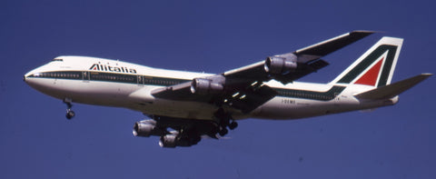 I-DEME was the second to join Alitalia's fleet, delivered in July 1970
