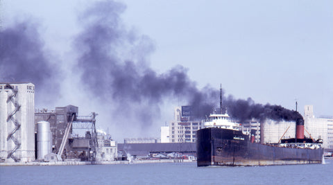 Here is the Pointe Noire on April 5, 1970 about to enter the Western Gap leading to Lake Ontario