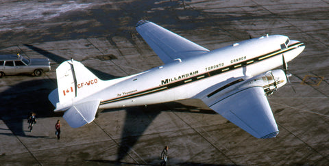 """Here's """"WCO"""" at YYZ Terminal One (the old Aeroquay, long since demolished) dropping off passengers on January 4, 1974"""