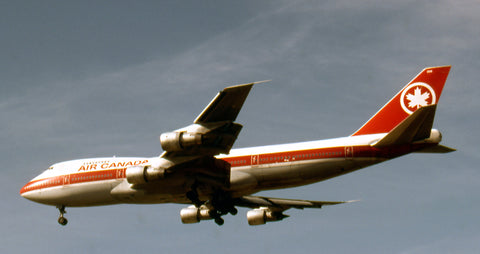 Air Canada B.747-200 was to have been CF- TOF, but instead was delivered in 1975 as C-GAGA