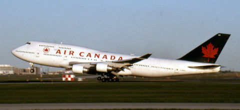 """Here's """"AGA"""" landing at YYZ on July 31, 1993"""