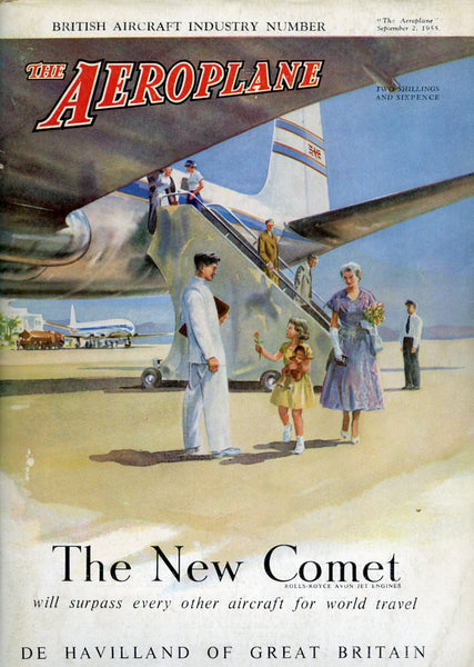"""The Aeroplane"" magazine of September 2, 1955"