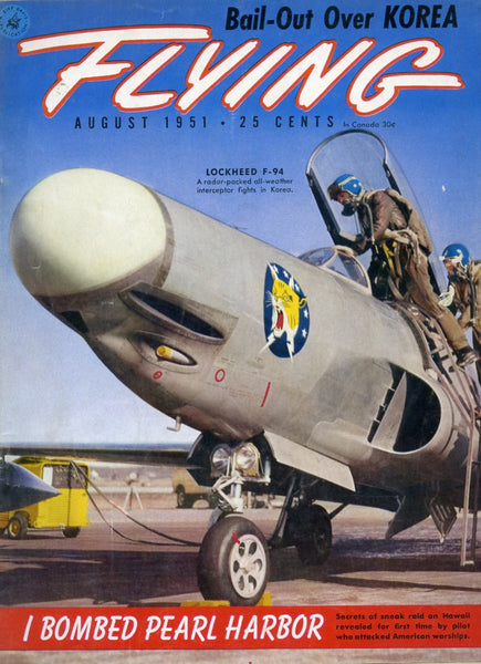 """Flying"" magazine for August 1951"