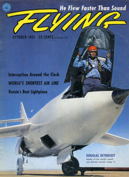 """Flying"" magazine for October 1951"