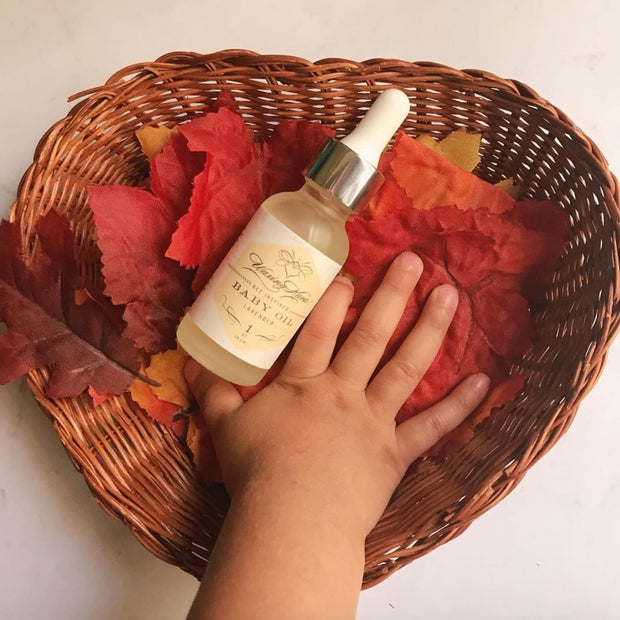 Bee Inspired® Baby Oil 1
