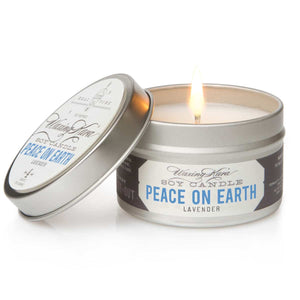 Peace on Earth Soy Tin Candle