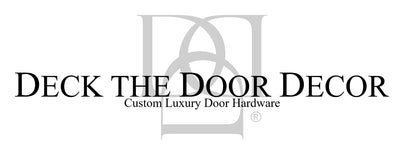 Deck the Door Decor Custom Luxury Door Hardware