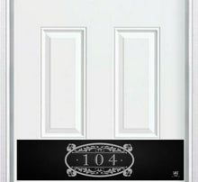 Load image into Gallery viewer, Southern Roots Home Address Engraved Door Kick Plate