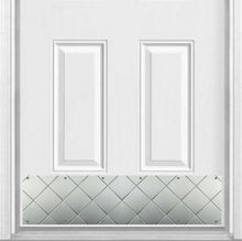 Load image into Gallery viewer, Quilted Embossed Premium Artisan Door Kick Plate for Interior or Exterior Doors