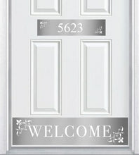 Load image into Gallery viewer, Johnson's Welcome Engraved Address Accent Plate