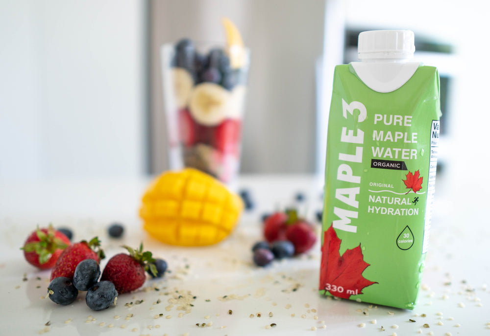 Maple Water Based Vegan Smoothie