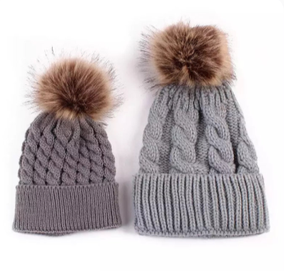 Mama & Mini Beanie Set
