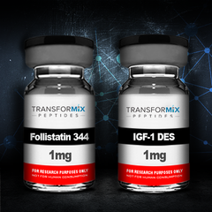 Bundle Follistatin 344 (Tag Free) with IGF-1 DES and save $30!