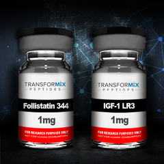 Bundle Follistatin 344 (Tag Free) with IGF-1 LR3 and save $30!