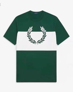 Fred Perry Printed Laurel Wreath T-Shirt (Green)