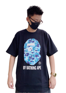 Bape ABC Camo Head T-Shirt