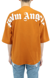 Palm Angels Over Honey Yellow Logo Tee