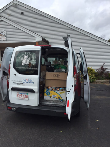 Van Absorbine Visits Second Chance Ranch Dog Rescue