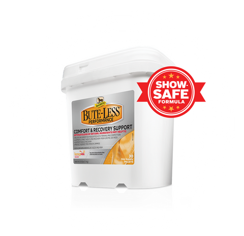 Package of Bute-Less Performance Supplement Pelleted Comfort & Recovery Supplement For Horses