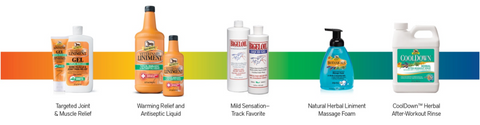 Absorbine official liniments and fly sprays of US Equestrian USEF